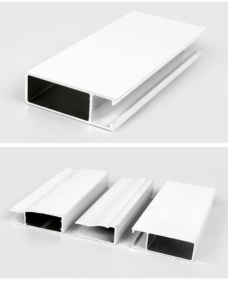 Aluminum profile for windows and doors parts
